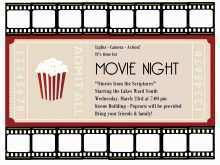50 Printable Blank Movie Ticket Invitation Template PSD File for Blank Movie Ticket Invitation Template