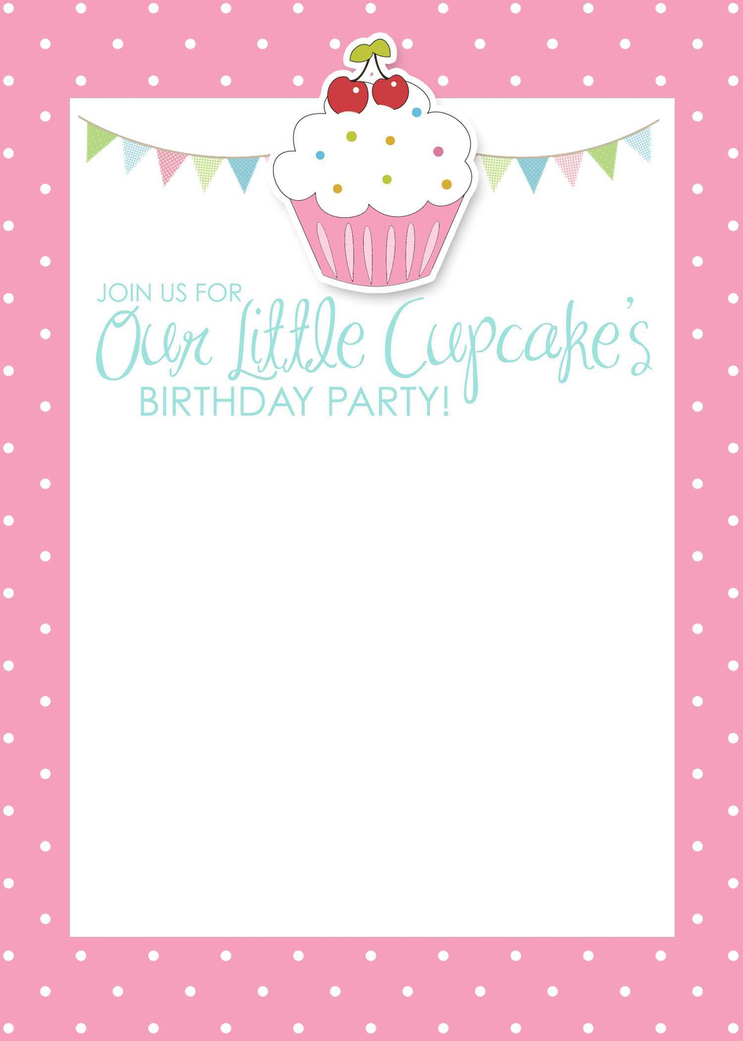 50 Report Birthday Invitation Template For Baby Girl Formating for Birthday Invitation Template For Baby Girl