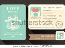 50 Report Free Passport Wedding Invitation Template Now with Free Passport Wedding Invitation Template