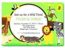 50 Standard Zoo Birthday Party Invitation Template Formating by Zoo Birthday Party Invitation Template