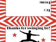 51 Blank American Ninja Warrior Birthday Invitation Template Formating with American Ninja Warrior Birthday Invitation Template