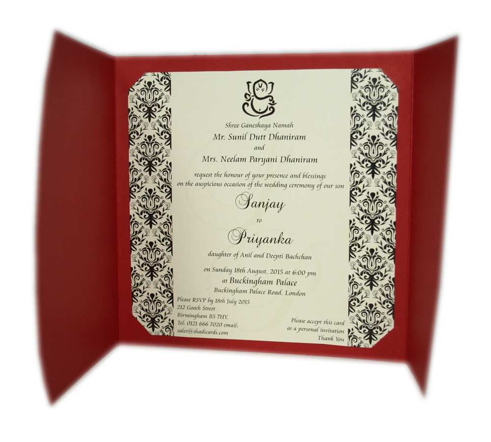 5 Create Wedding Card Invitation Text Pakistan Download by