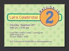 51 Creating Birthday Invitation Template Child For Free by Birthday Invitation Template Child