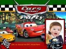 51 Creative Cars Birthday Invitation Template for Ms Word by Cars Birthday Invitation Template