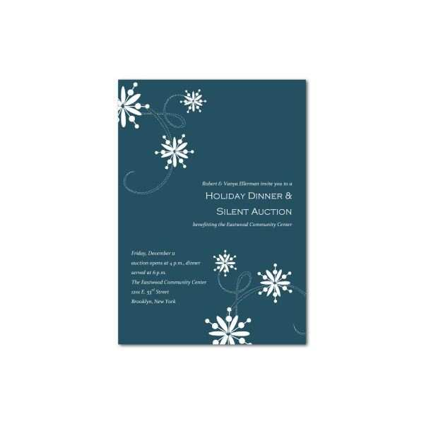 51 Customize Christmas Dinner Invitation Template Free For Free with Christmas Dinner Invitation Template Free