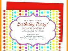 51 Customize Our Free Childrens Party Invitation Template in Photoshop by Childrens Party Invitation Template