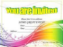 51 Format Party Invitation Card Template in Word by Party Invitation Card Template