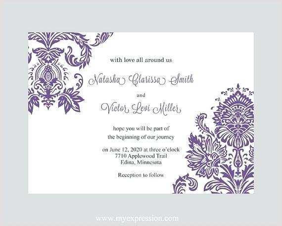 51 Online Wedding Invitation Template Word Free For Free for Wedding Invitation Template Word Free