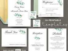 51 Visiting Wedding Invitation Template Eucalyptus Photo by Wedding Invitation Template Eucalyptus