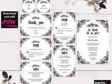 52 Printable Wedding Invitation Template Victorian Templates with Wedding Invitation Template Victorian