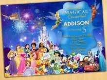 52 Visiting Birthday Invitation Template Disney Now for Birthday Invitation Template Disney