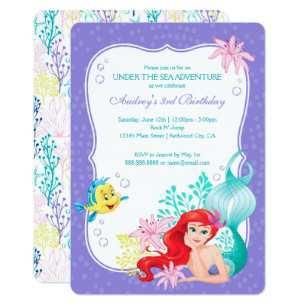 53 Blank Blank Mermaid Invitation Template Formating by Blank Mermaid Invitation Template