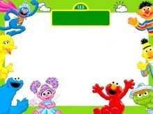 53 Create Elmo Birthday Invitation Template Formating with Elmo Birthday Invitation Template