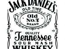 53 Create Jack Daniels Blank Invitation Template With Stunning Design with Jack Daniels Blank Invitation Template