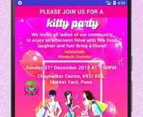 53 Free Printable Kitty Party Invitation Template in Photoshop with Kitty Party Invitation Template
