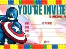 53 Free Printable Lego Birthday Party Invitation Template PSD File with Lego Birthday Party Invitation Template