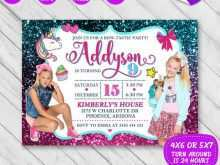 53 Online Jojo Siwa Party Invitation Template With Stunning Design for Jojo Siwa Party Invitation Template