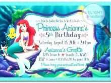 Mermaid Party Invitation Template
