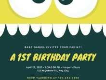 Virtual Birthday Invitation Template