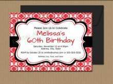 Download Birthday Invitation Template