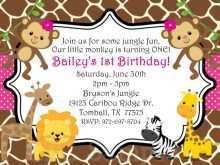 54 Adding Safari Birthday Invitation Template Free for Ms Word with Safari Birthday Invitation Template Free