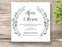 54 Adding Wedding Invitation Template Square For Free for Wedding Invitation Template Square