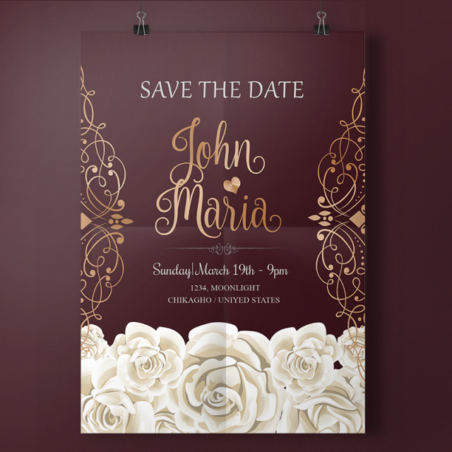 54 Best Elegant Wedding Invitation Template Free Now by Elegant Wedding Invitation Template Free
