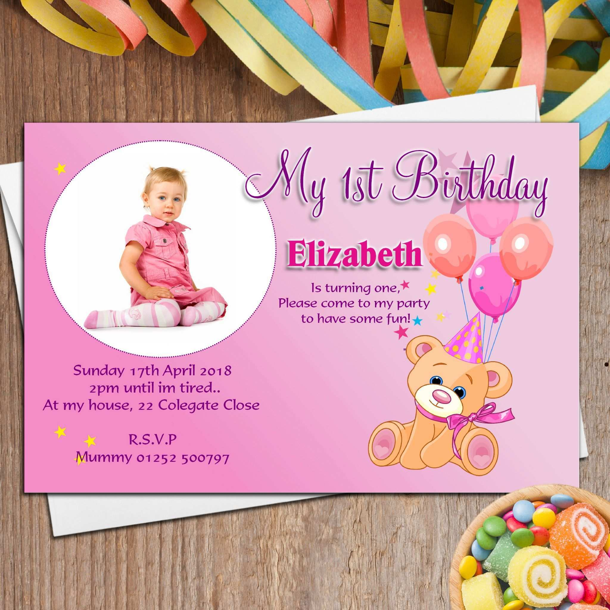 5 Create Birthday Invitation Template Whatsapp for Ms Word by