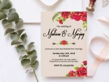 54 Customize Our Free Floral Wedding Invitation Template PSD File with Floral Wedding Invitation Template