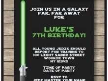 54 Customize Star Wars Birthday Invitation Template PSD File with Star Wars Birthday Invitation Template