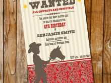 54 Customize Western Theme Party Invitation Template Layouts with Western Theme Party Invitation Template
