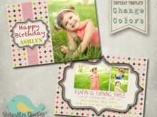 54 Format Birthday Invitation Card Template Psd For Free by Birthday Invitation Card Template Psd