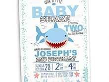 54 Free Baby Shark Birthday Invitation Template Download with Baby Shark Birthday Invitation Template