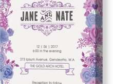 Wedding Invitation Template Canva