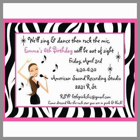 54 Standard Karaoke Party Invitation Template For Free for Karaoke Party Invitation Template