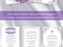 55 Adding How To Make A Wedding Invitation Template On Microsoft Word Download with How To Make A Wedding Invitation Template On Microsoft Word