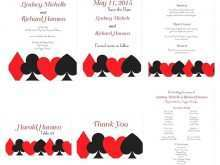 55 Creative Vegas Wedding Invitation Template For Free by Vegas Wedding Invitation Template
