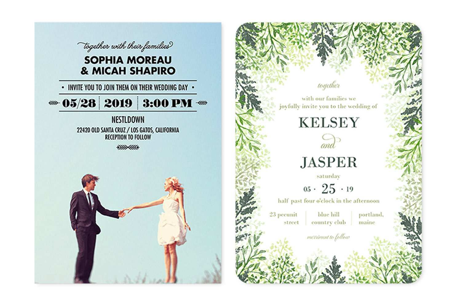 4 Customize Our Free Sample Wedding Invitation Template Templates