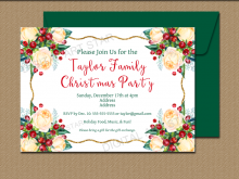 55 Free Christmas Party Invitation Template Editable Maker by Christmas Party Invitation Template Editable