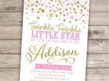55 Free Twinkle Twinkle Little Star Birthday Invitation Template Free Templates for Twinkle Twinkle Little Star Birthday Invitation Template Free