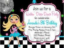 55 Online Disco Party Invitation Template in Photoshop by Disco Party Invitation Template