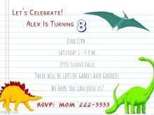 55 Printable Blank Dinosaur Invitation Template in Word for Blank Dinosaur Invitation Template