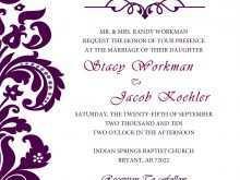 55 Printable How To Create Wedding Invitation Template Templates with How To Create Wedding Invitation Template