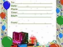 55 The Best Birthday Invitation Template Psd Formating with Birthday Invitation Template Psd