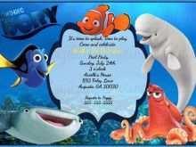 55 The Best Nemo Birthday Invitation Template Templates by Nemo Birthday Invitation Template