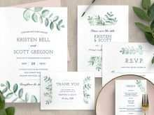55 Visiting Indesign Wedding Invitation Template Free in Word with Indesign Wedding Invitation Template Free