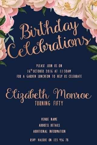 56 Best Adults Birthday Invitation Template Templates for Adults Birthday Invitation Template