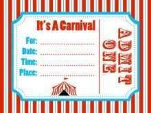 56 Creative Circus Birthday Invitation Template Free Maker with Circus Birthday Invitation Template Free