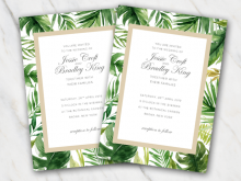 56 Customize Our Free Wedding Invitation Template Doc For Free by Wedding Invitation Template Doc
