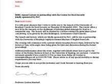 56 Free Formal Invitation Letter Samples Maker with Formal Invitation Letter Samples